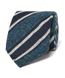 Dunhill | 8cm Striped Mulberry Silk-Blend Tie