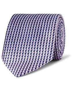Dunhill | 7.5cm Mulberry Silk-Jacquard Tie