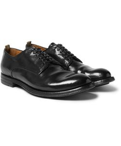 Officine Creative | Anatomia Polished-Leather Derby Shoes