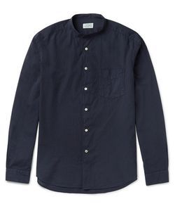 Hartford | Premium Grandad-Collar Cotton Shirt