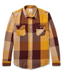 Levi's Vintage Clothing | Shorthorn Checked Cotton-Flannel Shirt