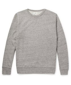 Hartford | Mélange Loopback Cotton-Jersey Sweatshirt