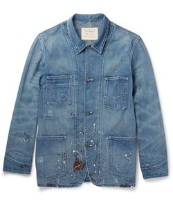 Levi's Vintage Clothing | Paint-Splattered Denim Jacket
