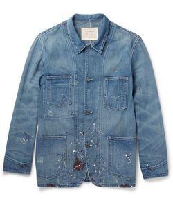 Levi's Vintage Clothing | Paint-Splattered Denim Jacket