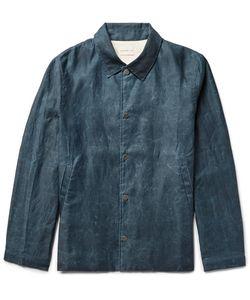 Simon Miller   Distressed Cotton Coach Jacket