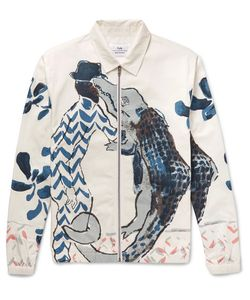 Folk | Goss Brothers Alligator Printed Cotton-Twill Jacket