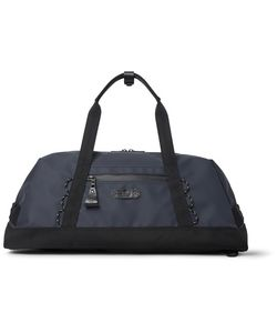 Master Piece | Master-Piece Slick Waterproof Rubberised-Leather And Cordura Convertible Bag Midnight