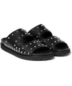 Alexander McQueen | Studded Leather Slides