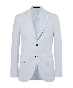 Mp Massimo Piombo | Striped Cotton Blazer