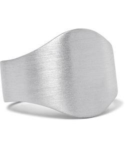 Miansai | Cigar Brushed Sterling Ring