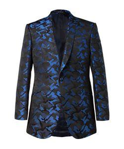 Richard James | Slim-Fit Camouflage Silk-Jacquard Tuxedo Jacket