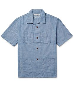 Outerknown | Cayman Camp-Collar Cotton-Chambray Shirt