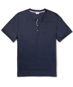 Zimmerli | Jersey Henley Pyjama T-Shirt