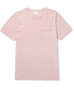 Oliver Spencer | Envelope Slim-Fit Mélange Cotton-Jersey T-Shirt