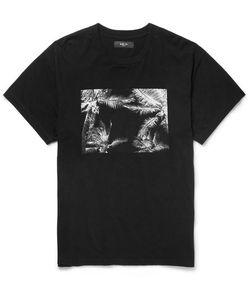Amiri | Printed Brushed-Cotton Jersey T-Shirt