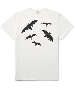 Levi's Vintage Clothing | 1960s Slim-Fit Bat-Print Cotton-Jersey T-Shirt