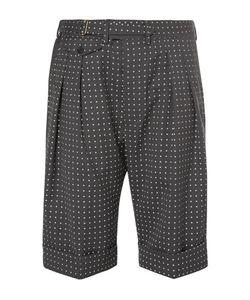 Wooster + Lardini | Wooster Lardini Polka-Dot Wool Shorts