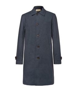 Oliver Spencer | Beaumont Cotton-Blend Twill Raincoat