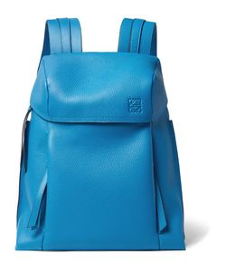 Loewe | T Full-Grain Leather Backpack