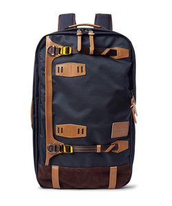 Master Piece | Master-Piece Potential Waterproof Leather And Suede-Trimmed Cordura Convertible Bag