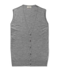 John Smedley | Huntswood Wool Sweater Vest