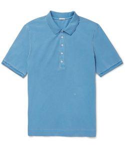 Massimo Alba | Stretch-Cotton Piqué Polo Shirt