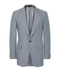 Dunhill | Slim-Fit Slub Silk And Linen-Blend Blazer