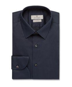 Canali | Slim-Fit Strech Cotton-Blend Shirt