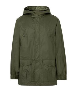 A.P.C. | A.P.C. Guillaume Coated-Cotton Hooded Parka