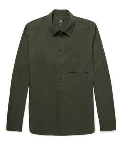 A.P.C. | A.P.C. Soldier Cotton-Poplin Shirt