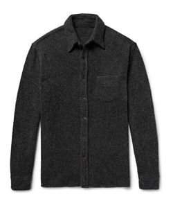 The Elder Statesman | Oversized Cashmere Shirt