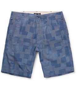 Alex Mill | Slim-Fit Patchwork Cotton-Dobby Shorts