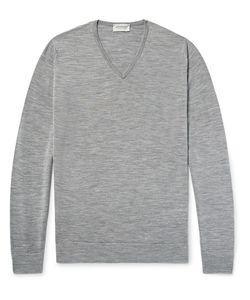 John Smedley | Blenheim Mélange Merino Wool Sweater