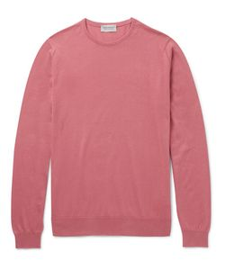 John Smedley | Hatfield Sea Island Cotton Sweater