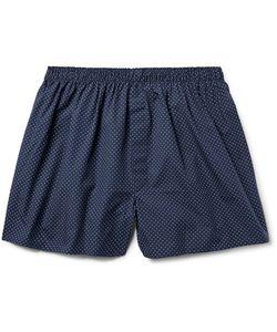 Sunspel | Pin-Dot Cotton Boxer Shorts