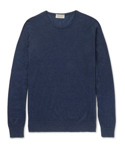 John Smedley | Theon Sea Island Cotton And Cashmere-Blend Sweater
