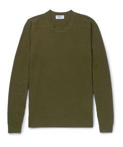 John Smedley   Ribbed Merino Wool Sweater