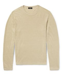 Theory | Berthos Linen-Blend Sweater
