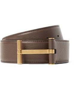 Tom Ford | 4cm Full-Grain Leather Belt
