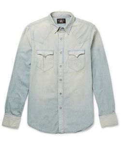 Rrl | Buffalo Slim-Fit Washed-Denim Western Shirt