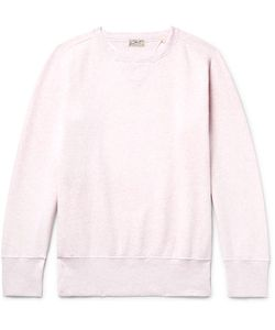 Levi's Vintage Clothing | Bay Meadows Fleece-Back Cotton-Jersey Sweatshirt Pastel