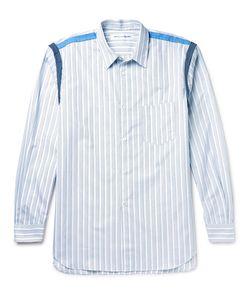 Comme Des Garçons   Shirt Slim-Fit Striped Cotton-Poplin Shirt