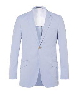 Richard James | Seishin Slim-Fit Striped Cotton-Blend Seersucker Blazer
