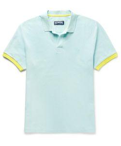 Vilebrequin | Palatin Contrast-Tipped Cotton-Piqué Polo Shirt