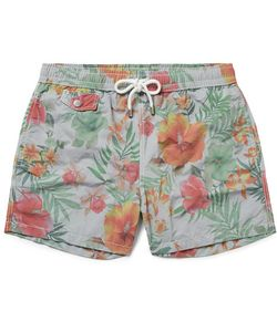 Hartford | Mid-Length Print Swim Shorts