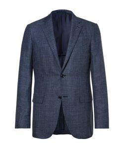 Ermenegildo Zegna | Slub Wool Silk And Linen-Blend Blazer