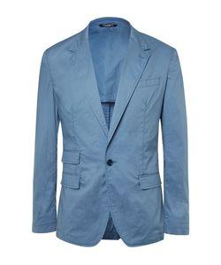 Dolce & Gabbana | Slim-Fit Garment-Dyed Cotton Blazer