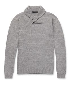 Ermenegildo Zegna | Slim-Fit Shawl-Collar Cashmere Sweater