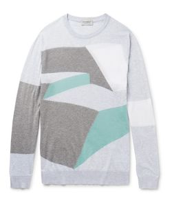 John Smedley | Intarsia Sea Island Cotton Sweater