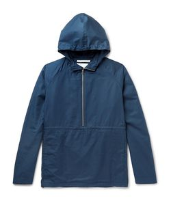 Norse Projects | Frank Cotton Hooded Half-Zip Jacket